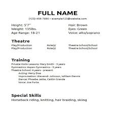 resume template for beginning actors best online resume builder resume template for beginning actors how to make an acting resume that works for you resume