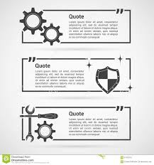 set of quotes templates stock vector image 67403755 set of quotes templates