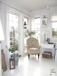 living room white grey black chippy shabby chic whitewashed chic family room decorating