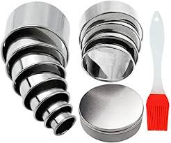 <b>13Pcs Round</b> Cookie Cutter Pastry Cutters <b>Round</b> Biscuit Cutters ...
