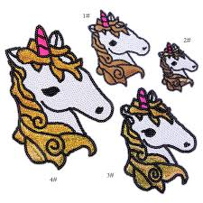 2019 <b>Embroidery Sequined Unicorn Patches</b> For Jackets ...