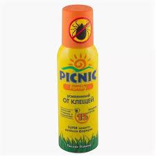 <b>Средство</b> от клещей <b>Picnic Family акарицидное</b> Super 125 см2 ...