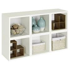 white storage unit wicker: full size of storage contemporary white cherry wood  cube storage unit rattan wicker baskets