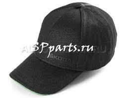 Купить <b>Бейсболка Skoda Baseball</b> Cap Logo, Black/Green ...