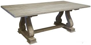 dining table antique plank top
