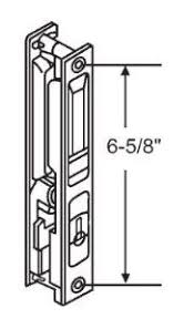 set sliding patio door diecast white sliding glass door handle set non keyed flush mount with nite lock