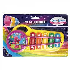 Металлофон из серии Заботливые мишки ТМ <b>Care Bears</b> от ...