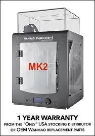 <b>Wanhao Duplicator 6 Plus</b> Mark 2 with Enclosure - GEN 2 – Ultimate ...