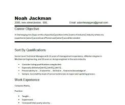 Example Of A Good Resume Objective  career object how to write a     happytom co