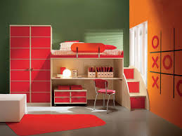 kids bedroom 2 pleasant orange and green paint boys room excerpt red colur ki bad furniture boys bed furniture