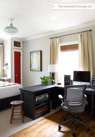 home office in bedroom home office bedroom home office guest bedroom reveal bedroom home office