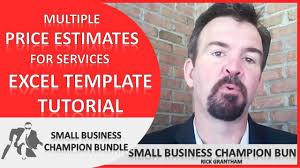 quote excel template multiple price estimates for services quote excel template multiple price estimates for services spreadsheet
