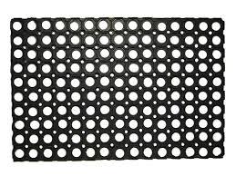<b>Коврик придверный Vortex</b> Rubber черный 100х150 см купить по ...