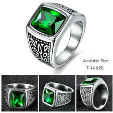 Green <b>Eternity</b> Fashion Rings for sale | eBay