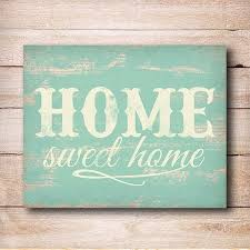 sign vintage home decor