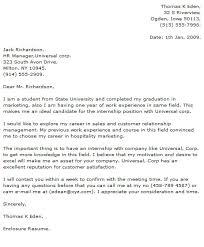 cover letter example 1 with how to write cover letter for internship how to make a cover letter for an internship
