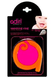 <b>Прорезыватель</b> для зубов <b>Adiri A Teething</b> Rings, magenta-orange ...