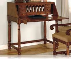 brown cherry finish drop leaf bedroom home office secretary desk home office furniture cherry finished
