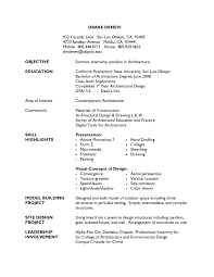 sample student resumes sample architecture resume for students resume template for students