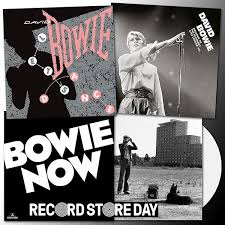Three Bowie discs for RSD 2018 — <b>David Bowie</b>