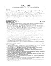 senior project manager resume example eager world it