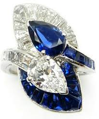Details about Cocktail Party Ring Solid <b>925 Sterling Silver</b> Blue Oval ...