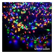 Электрогирлянда <b>Winter Glade Мультиколор 700</b> ламп — купить в ...