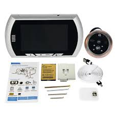 aliexpress com buy 4 3 inch video doorbell lcd digital peephole aliexpress com buy 4 3 inch video doorbell lcd digital peephole the electronic eye 120 degree ir camera doorbell for home apartment f1622d from reliable