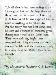 the magician s nephew c s lewis one of my favorite parts in all one of my favorite parts in all of the