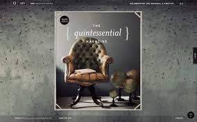2nd issue of quintessential magazine stylist glen proebstel quintessential magazine cover