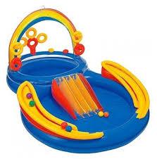 Игровой центр <b>Intex Rainbow</b> Ring Play Center 57453 — купить по ...