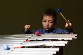 Vibraphone is telling stories <b>in the moonlight</b>