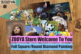 <b>ZOOYA 5D</b> DIY <b>Diamond Embroidery</b> Rhinestones Embroidery ...