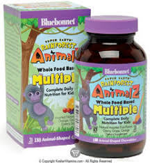 Bluebonnet Kosher Super Earth <b>Rainforest Animalz Whole</b> Food ...