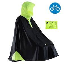 <b>дождевик</b>-<b>пончо для</b> велоспорта ville 500