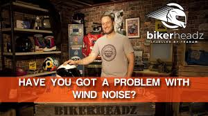Suffering with Wind Noise in your helmet? What Causes it? - YouTube