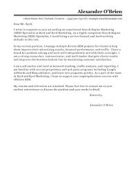 leading professional sem cover letter examples resources sem cover letter example