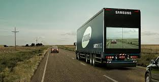 <b>Samsung</b> Invents A <b>Screen</b> On The Back Of Trucks To Show The ...