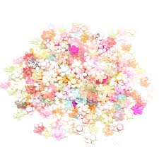 <b>200pcs Mixed</b> Petal Pearl Crafts <b>Christmas</b> Decoration Flatback ...