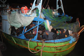 s military thwarts three attempts at illegal immigration to a boat carrying illegal immigrants stopped from leaving s alexandria photo s military spokesman