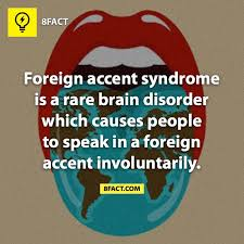 Image result for foreign accent syndrome