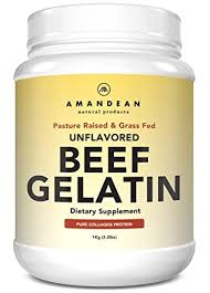 <b>Premium</b> Unflavored <b>Gelatin</b> Powder XL 2.2lbs, Grass-Fed <b>Beef</b> ...
