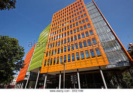 central saint giles office building home to google uk london england uk stock image central saint giles office building google
