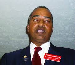 ACWORTH - The two candidates vying to replace Scott Johnson as chairman of the Cobb Republican Party, pilot Darryl Wilson of east Cobb and travel agency ... - 5K7Z_Darryl_Wilson