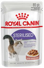 Кошкам :: Корм :: <b>Royal Canin</b> :: <b>Royal Canin Sterilised</b> в соусе <b>пауч</b> ...
