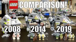 <b>LEGO Star Wars</b> AT-AP Comparison! (7671, 75043, <b>75234</b> | 2008 ...