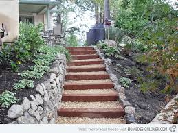 Image result for gravel stairs