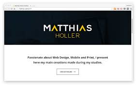 27 things to put on your portfolio when first starting out matthias holler