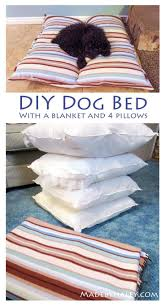 DIY <b>Dog Bed</b> with things you already have