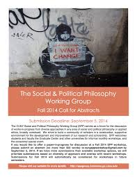 call for abstracts social political philosophy working group spp cfa fall 2014